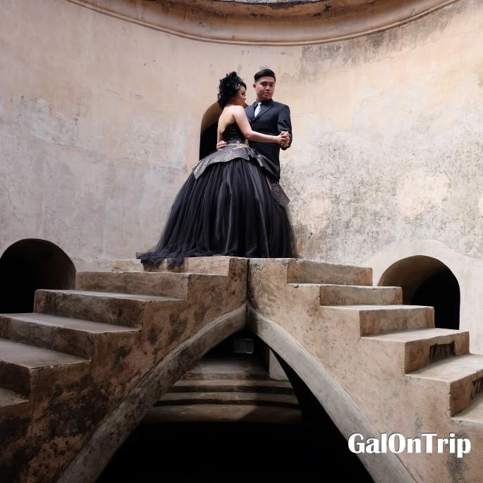 black bride and groom