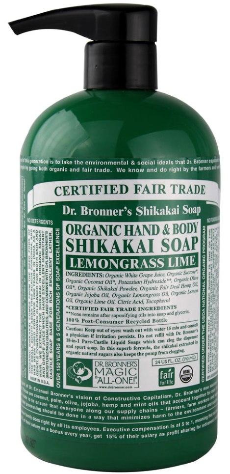 Dr-Bronners-Organic-Hand-And-Body-Shikakai-Soap-Lemongrass-Lime-018787960059