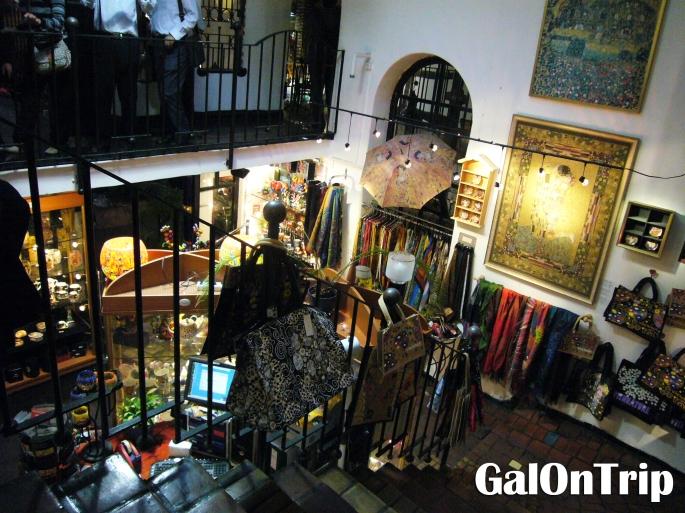 two-storey artshop