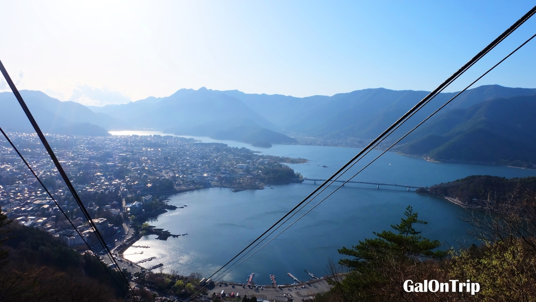 lake kawaguchi japan mt fuji