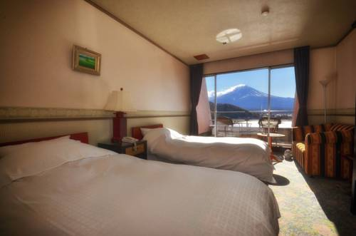 mizuno hotel bedroom japan mt fuji
