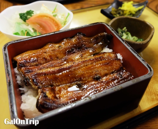 unagi rice set