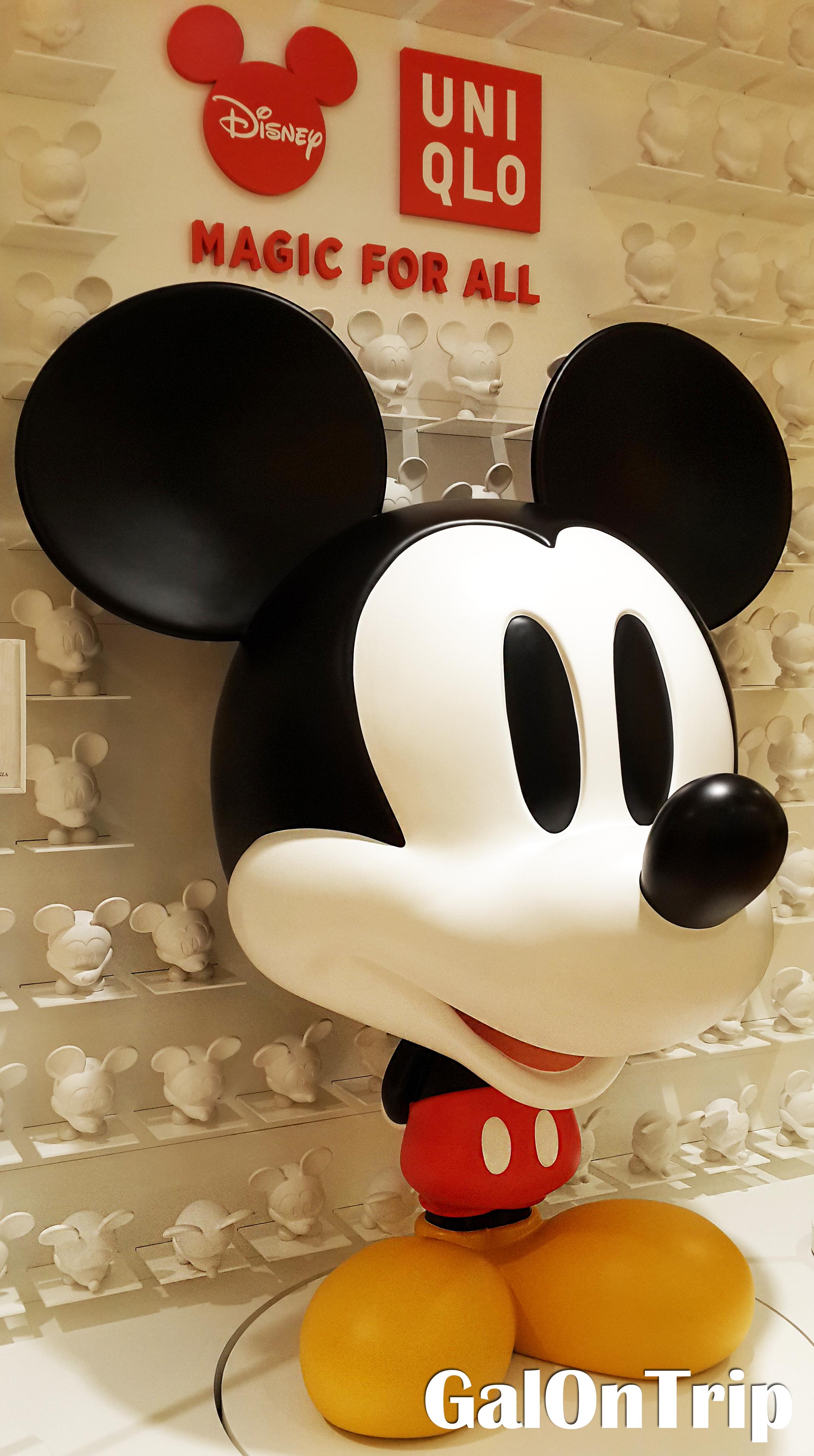 mickey mouse uniqlo ginza tokyo