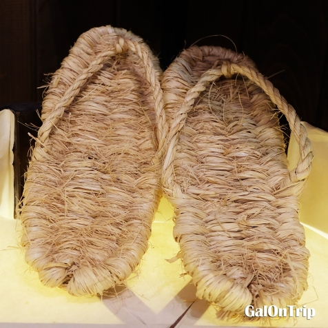 woven sandal japan