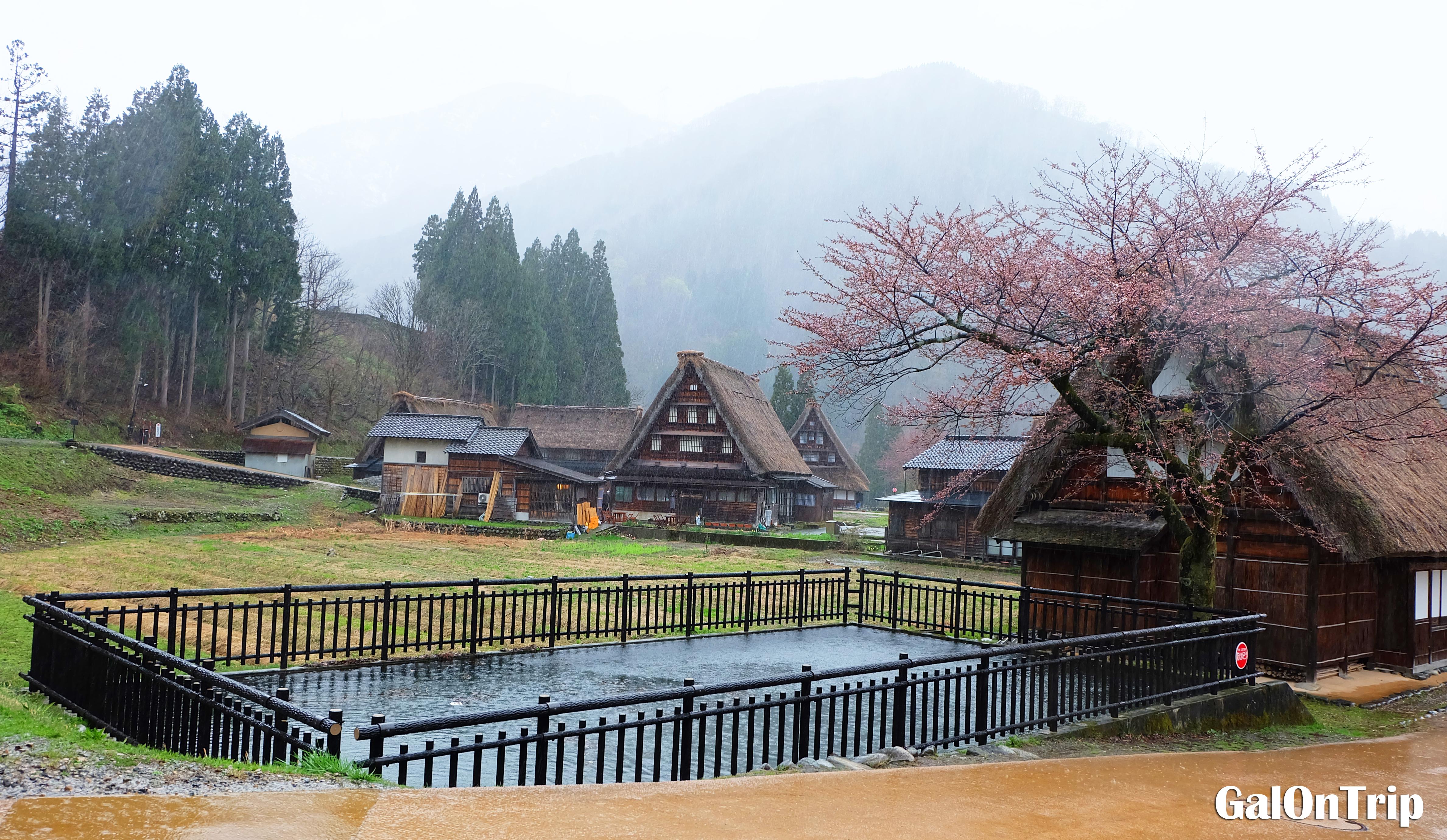 gassho-zukuri gokayama japan