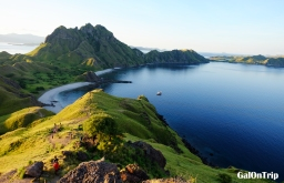 Trekking on Padar Island: Challenging Path for Breathtaking Views