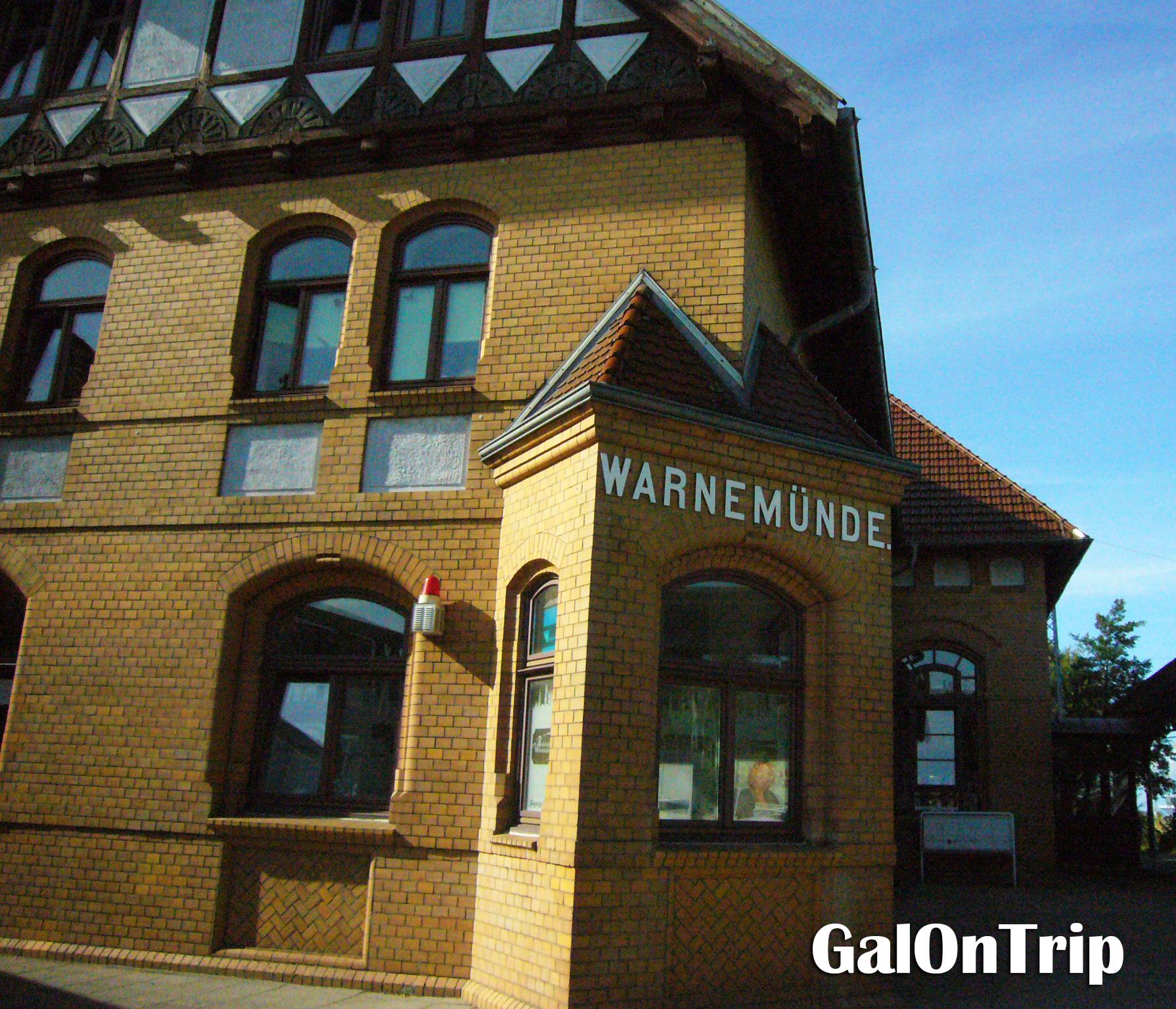 warnemunde station
