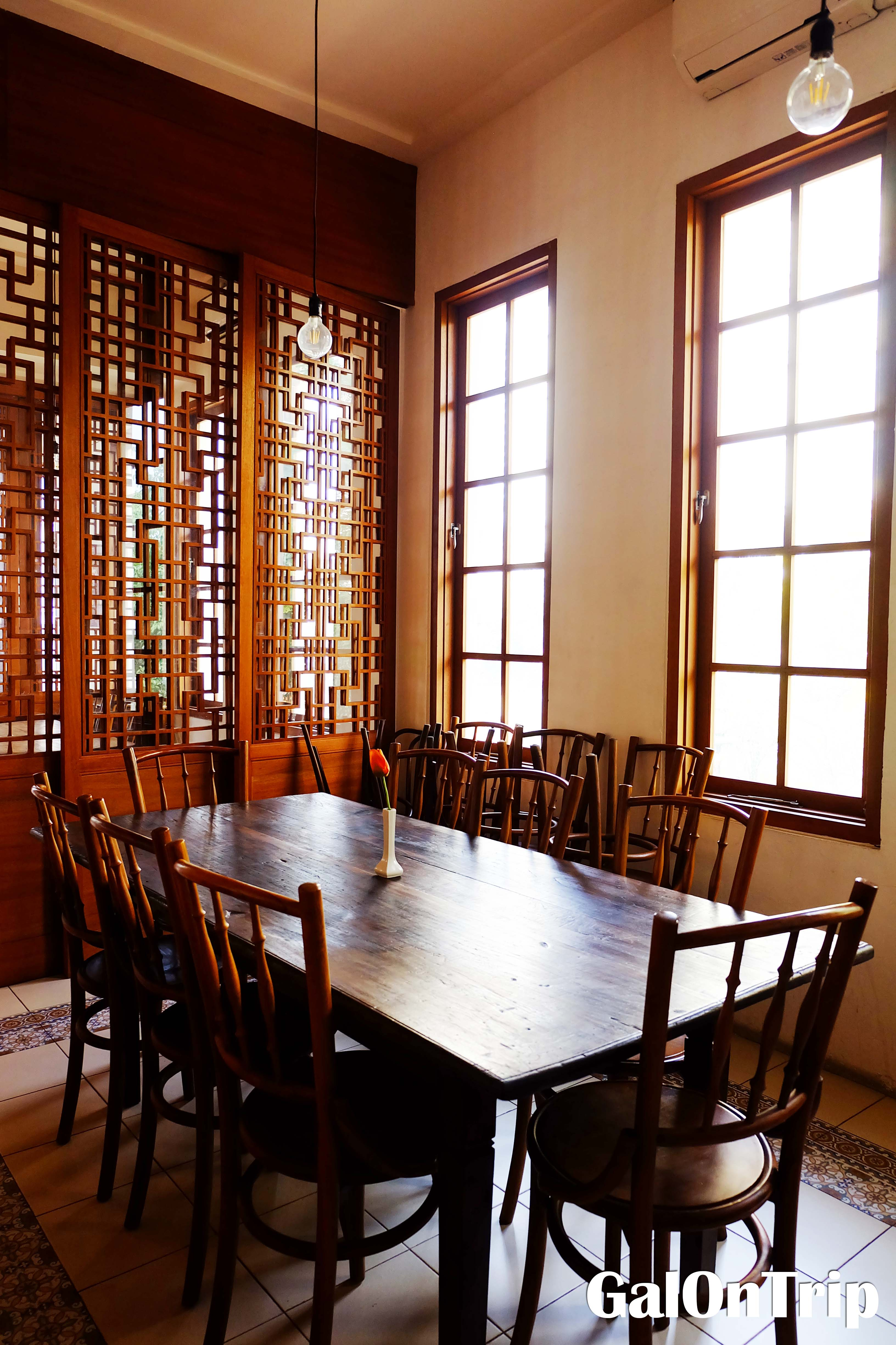 private seating for meetings